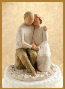 Anniversary Willow Tree®  Cake Topper