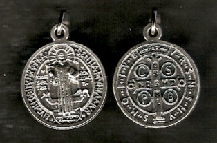Pack of 5 Large Saint Benedict Medals