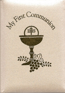 Deluxe White Communion Mass Book