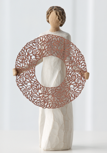 Welcome Here Willow Tree® Figure