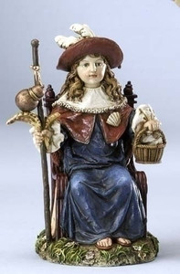 "6.25"" Nino De Atocha Statue Renaissance Collection"