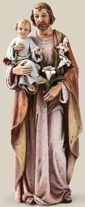"6"" Saint Joseph Statue Renaissance Collection"