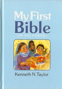 My First Bible in Pictures - Blue