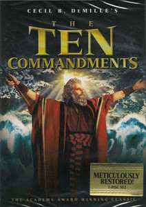 The Ten Commandments Two-Disc Set DVD