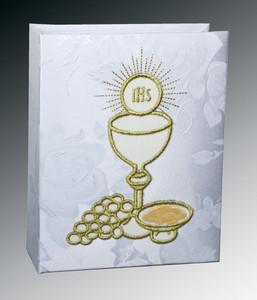 First Communion Photo Album - White