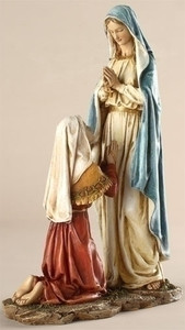 "10.5"" Our Lady of Lourdes Statue Renaissance Collection"