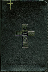 Bonded Leather Saint Joseph Weekday Missal Volume I