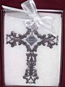 In Loving Memory Filigree Cross