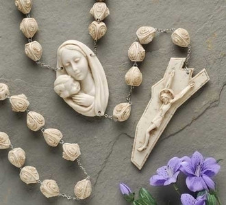 Alabasterite Wall Rosary