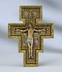 Medium San Damiano Wall Cross