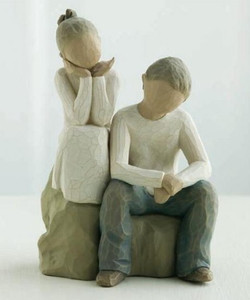 Brother and Sister Willow Tree® Figure