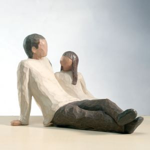 Father and Daughter Willow Tree® Figure
