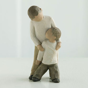 Brothers Willow Tree® Figure