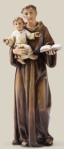 "6.25"" Saint Anthony Statue Renaissance Collection"
