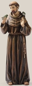 "6.25"" Saint Francis Statue Renaissance Collection"