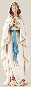 "6.25"" Our Lady of Lourdes Statue Renaissance Collection"