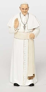 "6.25"" Pope Francis Statue Renaissance Collection"