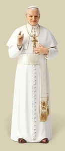 "Pope St. JohnPaul II 6.25"" Statue Renaissance Collection"