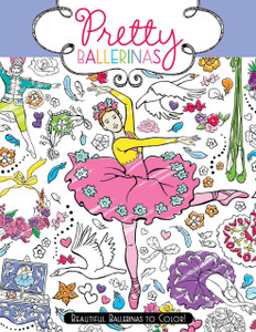 Pretty Ballerinas Coloring Book