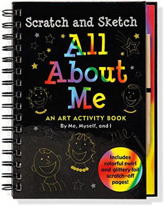 All About Me Scratch and Sketch Book