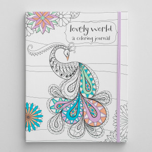 Lovely World: A Coloring Journal