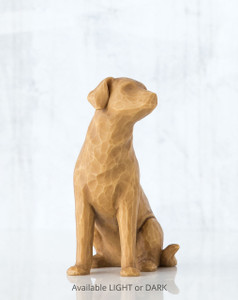 Love my Dog (light)  Willow Tree® Figure