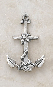 Sterling Silver Mariner's Cross