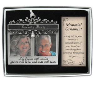 In Loving Memory Photo Ornament