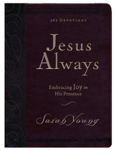 Jesus Always: Embracing Joy in His Presence (Large Deluxe)-Imitation Leather