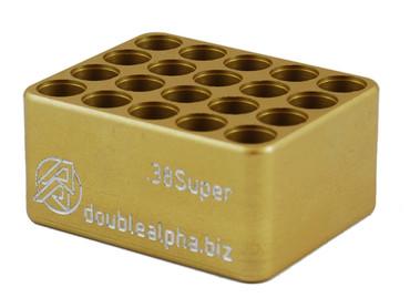 DAA Golden 20-Pocket Case Gauge by Double Alpha
