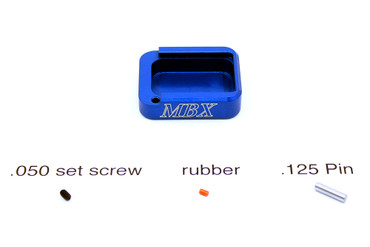 MBX Standard Basepad Repair Spare Replacement Parts Kit