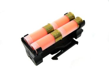 Safariland Quad Shotgun Shot Shell Caddy Holder with ELS Fork Model 086 (086-4-2-MS34)