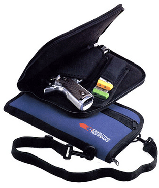 CED 1200 Deluxe Pistol Bag Case Sleeve
