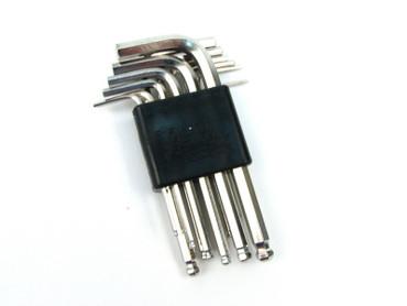 CED / DAA 12-pc.set in Metric & Standard Hex Key Set