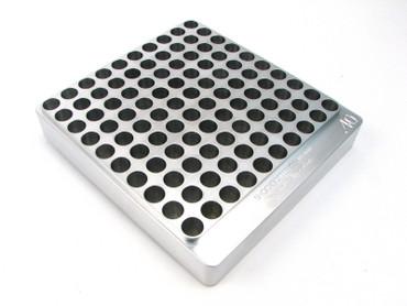 100-Hole 40 S&W Chamber Checker Cartridge Case Gauge Hundo Casegauge