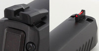 Dawson Precision Competition Fiber Front Sight & Fixed Rear Sight Set for Sig Sauer P320