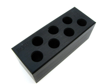 38 Super 7-Hole Chamber Checker Max Cartridge Gauge by EGW (70120)