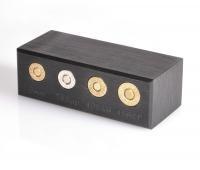 EGW 4 Caliber Auto Ammo Chamber Checker Case Gauge (9mm, 40 S&W, 45 & 38 calibers)