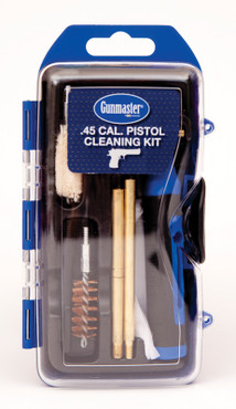 Gunmaster / DAC Technologies 14 Piece Pistol Cleaning Kit with 6 Piece Driver Set - 9mm / 40 S&W / 45 ACP