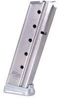 Dawson 9mm 10 Round 1911 Magazine - Silver Competition Basepads