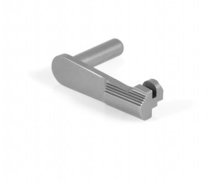 "1911 / 2011 Heavy Duty Slide Stop .200"" for 9mm/.38/.40 in Stainless Steel by EGW"