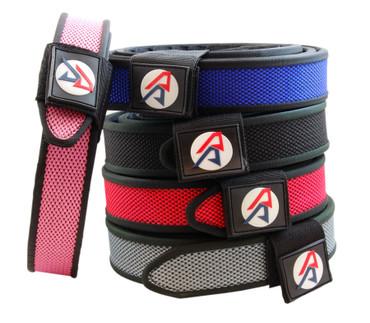 "Double Alpha Academy (DAA) Premium Nylon Competition Double Belt 1-1/2"""