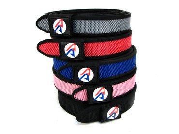Double Alpha Academy (DAA) Premium Nylon Competition Double Belt 1-1/2""