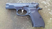 CZ 75 Compact / P01 Palm Swell Bogies G10 Grips by Lok Grips LokGrips