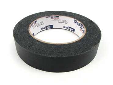 "1"" x 60 yards Black Masking Target Tape for Hard Cover"