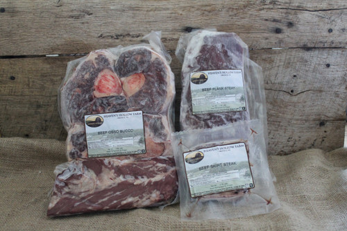 Butcher's Cuts Beef Sampler Package