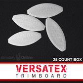 Versatex PVC Joint Biscuits 25 Count