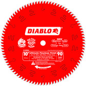 Freud Diablo D1090X 10 in. x 90 Tooth Ultimate Flawless Finish Saw Blade