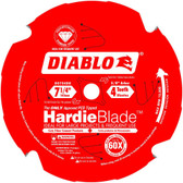 Freud Diablo D0704DH  7-1/4 in. x 4-Tooth Polycrystalline Diamond (PCD) Tipped James Hardie/Fiber Cement Saw Blade