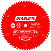 Freud Diablo D1060X 10 in. x 60-Tooth Fine Finish Saw Blade